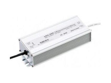 Zdroj - LED driver 12V DC/200W - Carspa LPV-200-12