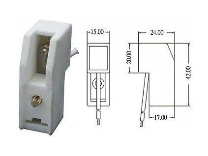 Patice R7S keramická pro lineární halogen