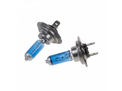 Halogen. žárovka 12V s paticí H7 Blue white 4300K