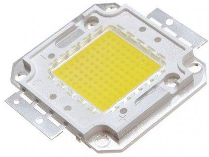 LED 50W Bridgelux bílá 6000K, 5500lm/1500mA,30-32V,120°