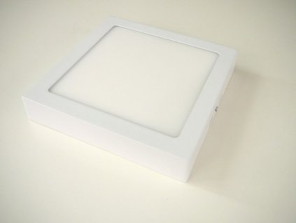 LED stropní svítidlo 18W přisazený čtverec 220x220mm - Denní bílá