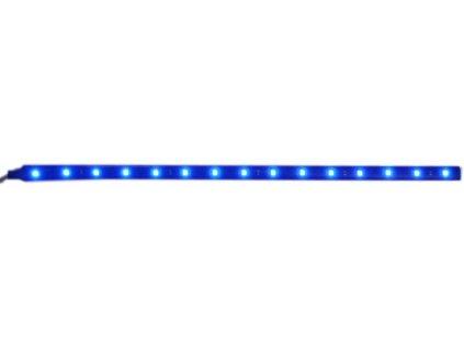 samolepící LED pás 30cm 15ks SMD LED modrý