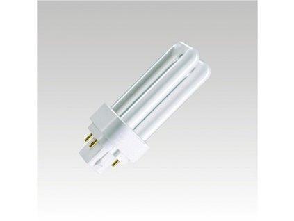 Úsporná žárovka třípásmová čtyřpinová KLD-D/E 26W/830 G24q-3