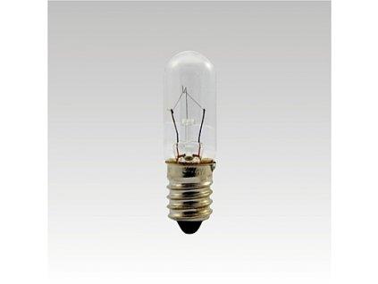 Trubková žárovka 24V 25W E14 čirá 16x54