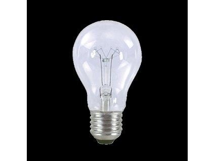 Žárovka 240V A55 100W E27 čirá NEW
