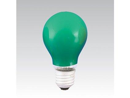 Barevná žárovka AGF 230-240V 40W E27 zelená NARVA