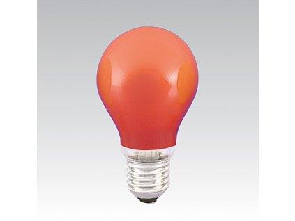 Barevná žárovka AGF/014 240V 15W E27 ORANGE NARVA