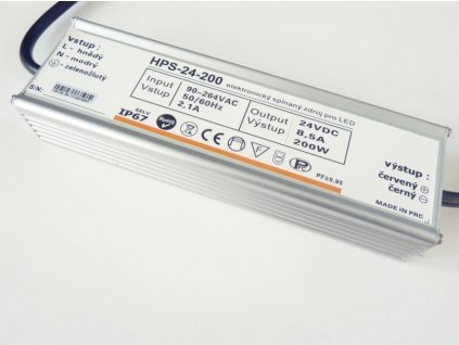 LED zdroj 24V 200W HPS-24-200 Záruka 5 let - 24V 200W zdroj HPS-24-200 Záruka 5 let