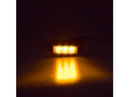 PREDATOR 3x1W LED 12-24V oranžový