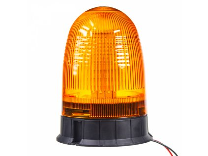 Zábleskový LED maják 12-24V oranžový homologace