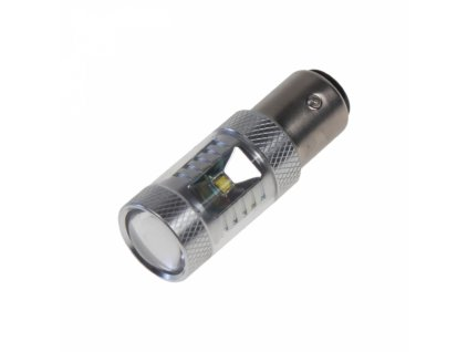 CREE LED žárovka BAY15D 12-24V 30W (6x5W) bílá