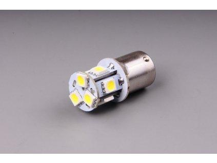 žárovka LED 24V 5W BA15s čirá 8xSMD