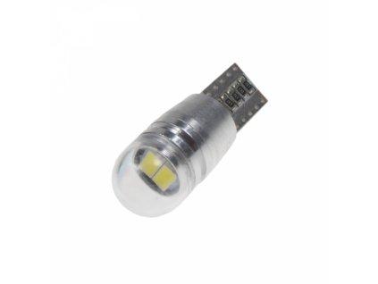 LED žárovka 12V T10 bílá 2LED/5730SMD
