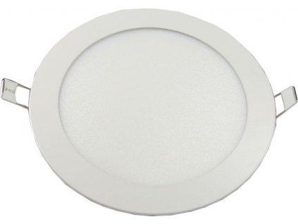 Podhledové světlo LED 12W, 170mm, bílé, 230V/12W, vestavné
