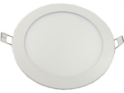 Podhledové světlo LED 12W, 170mm, teplé bílé, 230V/12W, vestavné