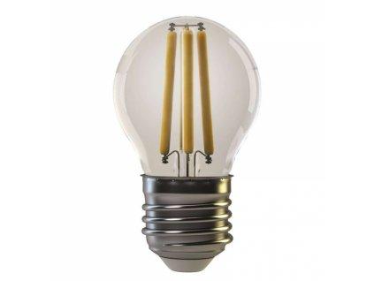 LED žárovka Filament Mini Globe 4W E27 teplá bílá