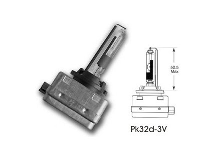 výbojka D1R 85V/35W Osram - PK32d-3