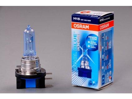 žárovka H15 12V 15/55W PGJ23t-1 COOL BLUE Intense OSRAM