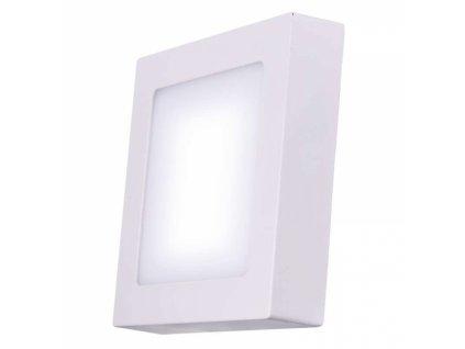 LED přisazené svítidlo čtverec 12W denní bílá IP20