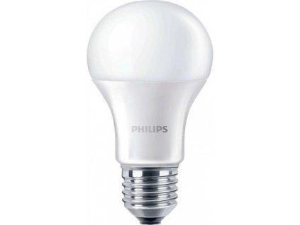 PHILIPS E27 10W 4000K 1055lm náhrada 75W LED žárovka A60