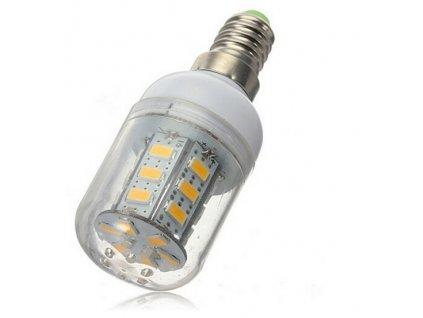 LED žárovka E14 12V 5W teple bílá