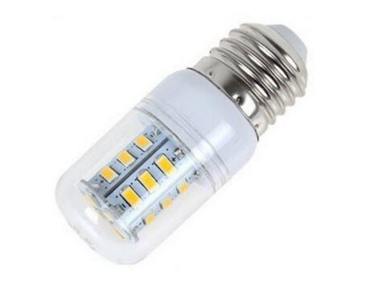 LED žárovka E27 12V 5W studená bílá