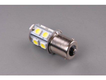 LED žárovka 24V 21W BA15s čirá 13xLED 5050