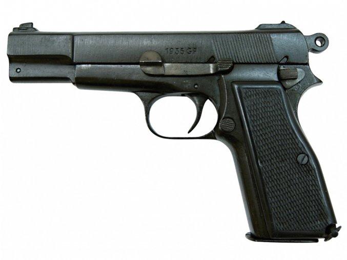 Replika Pistole Browning HP35, Belgie 1935