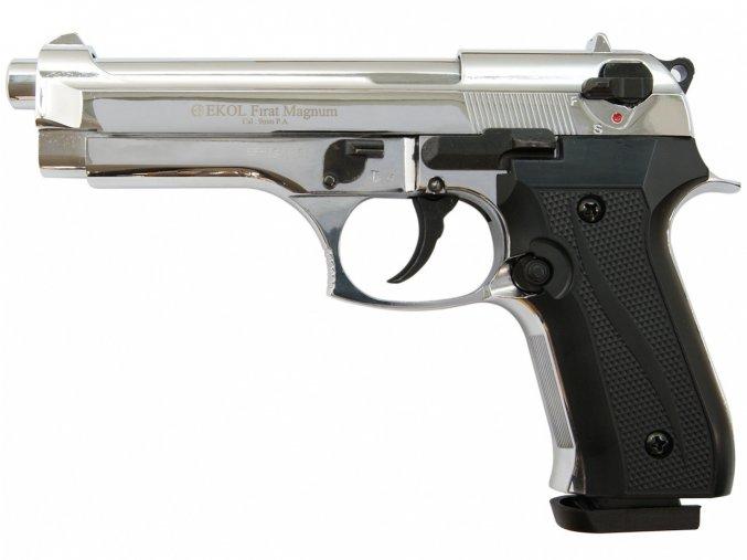 Plynová pistole Ekol Firat 92 chrom cal.9mm
