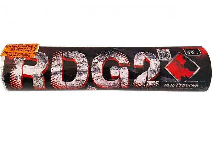 Pyrotechnika Červená dýmovnice (60 sekund) 1ks