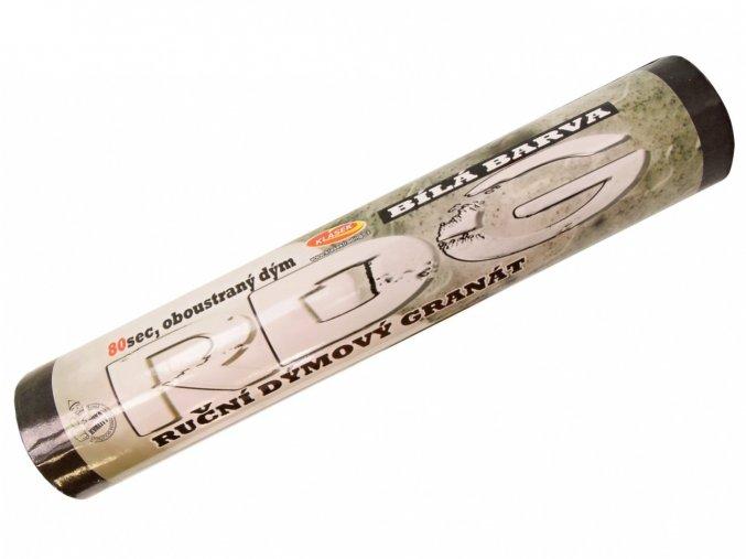 15139 pyrotechnika bila dymovnice 80 sekund 1ks