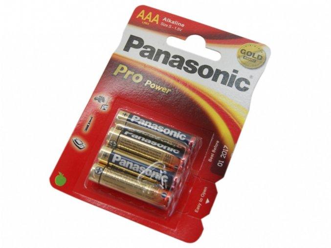 Baterie Panasonic Pro Power AAA-LR03 1,5V Alkaline 1ks