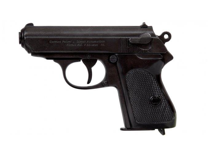 Replika Německá Pistole Waffen-SSPPK, černá