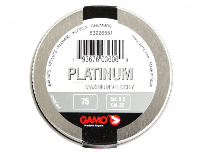 Diabolo Gamo PBA Platinum 75ks cal.5,5mm