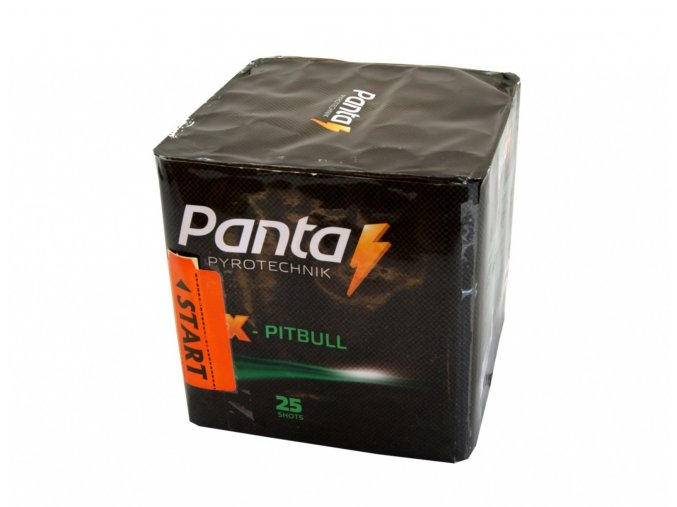 Pyrotechnika Kompakt 25ran / 20mm X-Pitbull