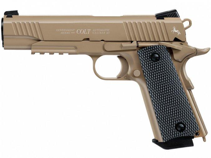 Vzduchová pistole Colt Government M45 CQBP FDE