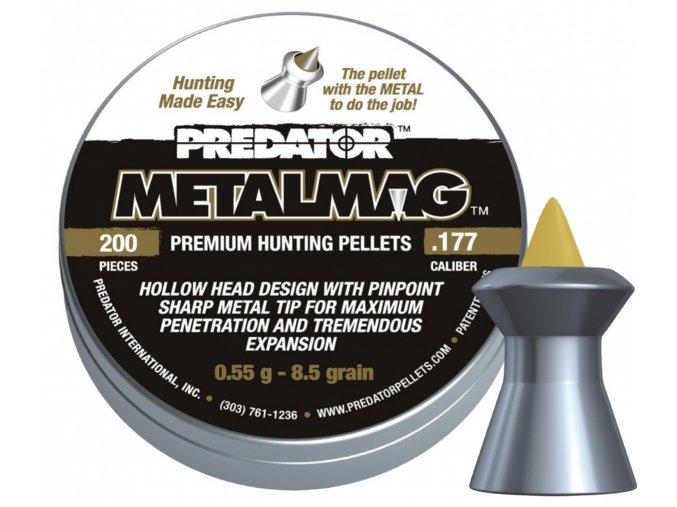 Diabolo JSB Predator MetalMag 200ks cal.4,5mm
