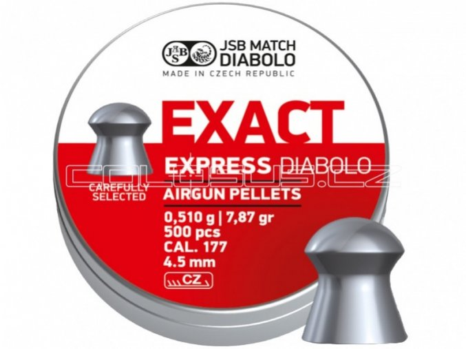 Diabolo JSB Exact Express 500ks cal.4,51mm