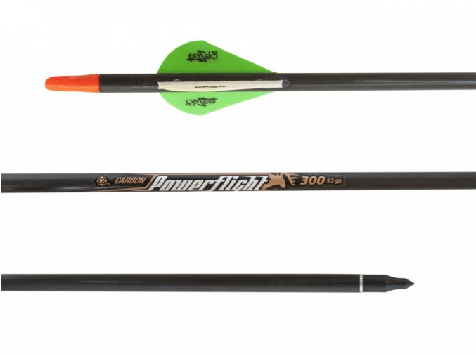 "Šíp carbon 32"" Easton Power Flight 300 Bohning"