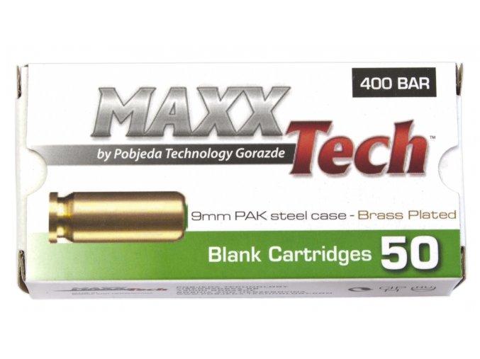 Startovací náboje 9mm pistole 50ks Pobjeda