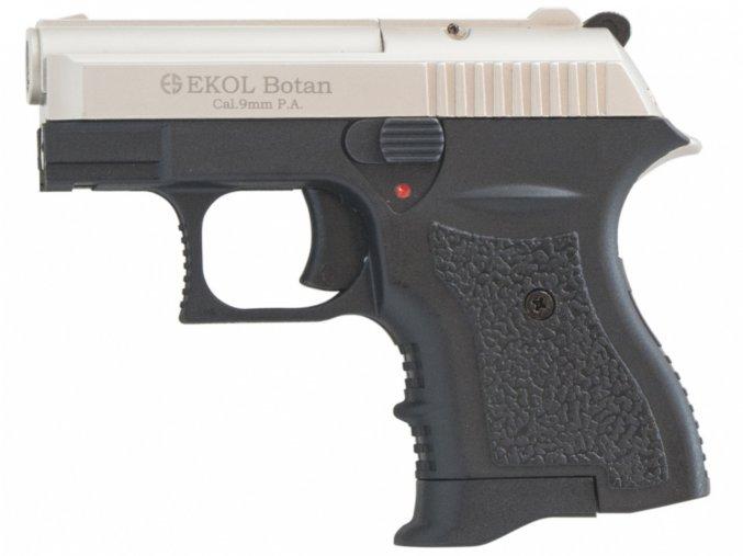 Plynová pistole Ekol Botan satén nikl cal.9mm