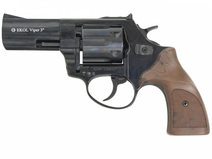 """Plynový revolver Ekol Viper 3"""" černý cal.9mm"""