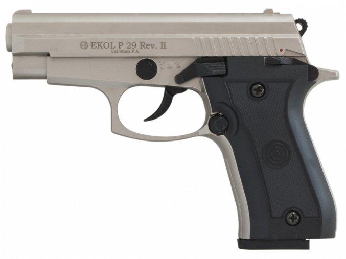 Plynová pistole Ekol P29 REV II satén cal.9mm
