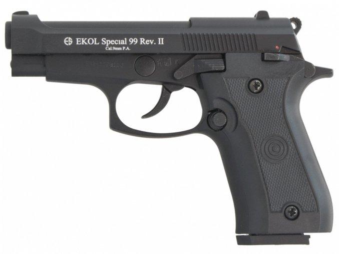 Plynová pistole Ekol Special 99 REV II černá cal.9mm