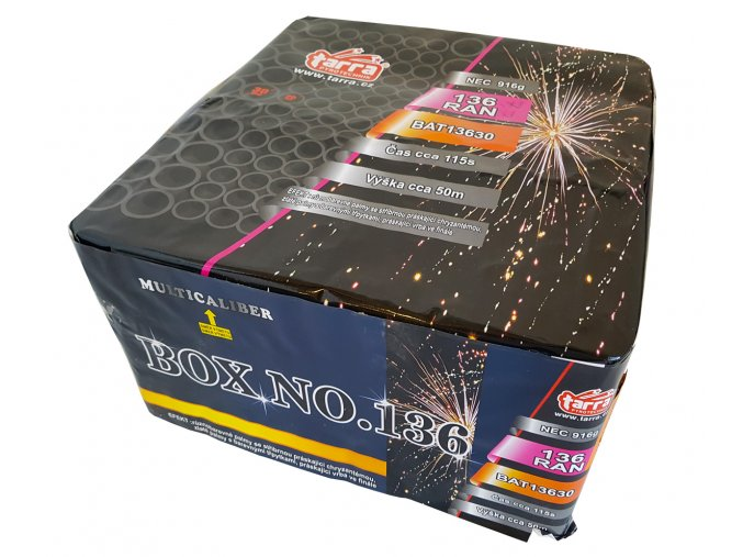 Pyrotechnika Kompakt 136ran / 20+30mm BOX NO.136