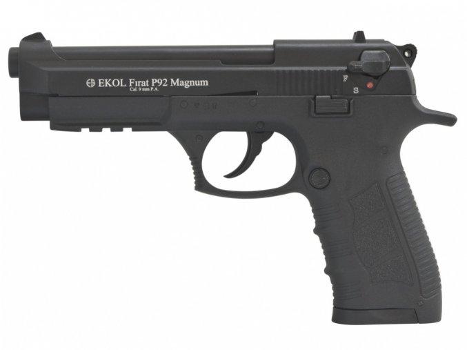 Plynová pistole Ekol Firat Magnum P92 černá cal.9mm