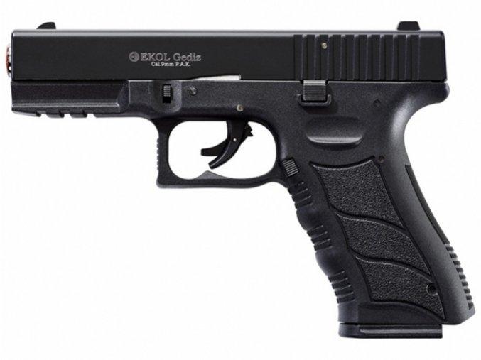 Plynová pistole Ekol Gediz černá cal.9mm