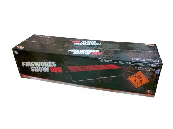 Pyrotechnika Kompakt 168ran / 30 a 50mm Fireworks show 168