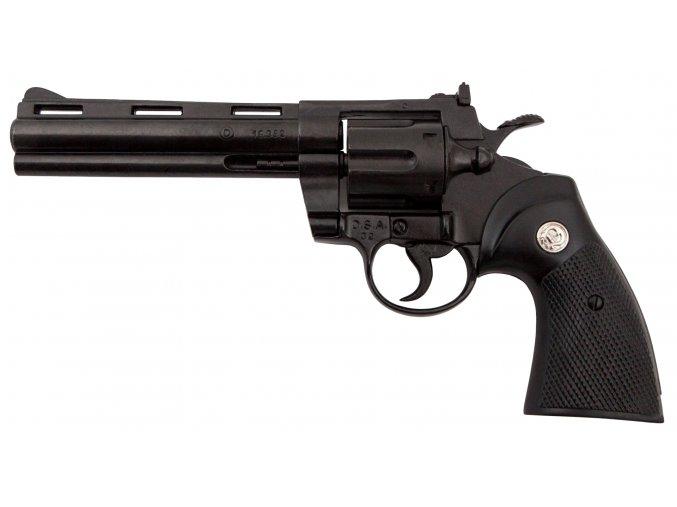 Replika revolver Python .357 Magnum černý