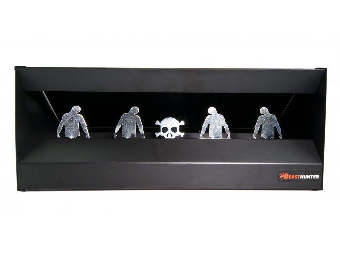 Střelnice Beast Hunter čtyři zombie magnetická